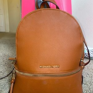 Micheal Kors leather back pack